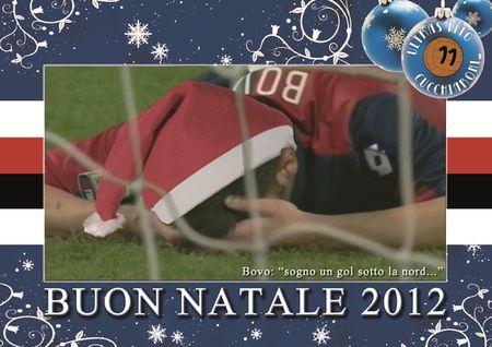 Buon Natale Ultras.Cartolina Di Natale Ultras Tito Cucchiaroni